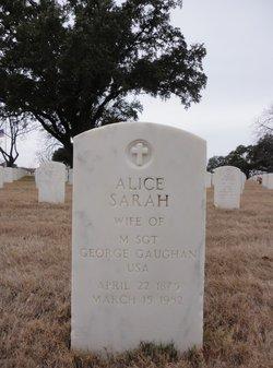 Alice Sarah Gaughan