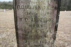 Elizabeth <I>McMillon</I> Anderson