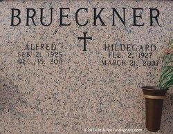 Hildegard <I>Geisler</I> Brueckner