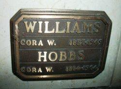 Cora Adelia <I>Williams</I> Hobbs
