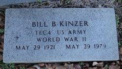 Bill B Kinzer