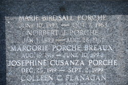 Josephine Gloria <I>Cusanza</I> Porche