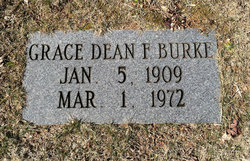 Grace Dean <I>Forester</I> Burke