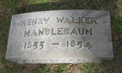 Henry Walker Mandlebaum