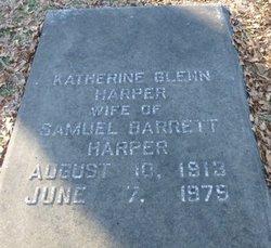 Katherine <I>Glenn</I> Harper