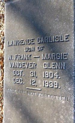 Lawrence Carlisle Glenn