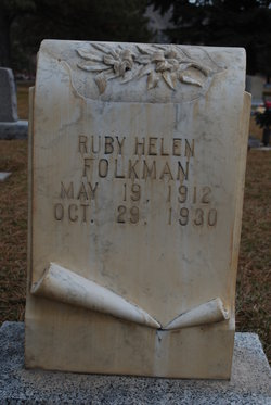 Ruby Helen <I>Smith</I> Folkman