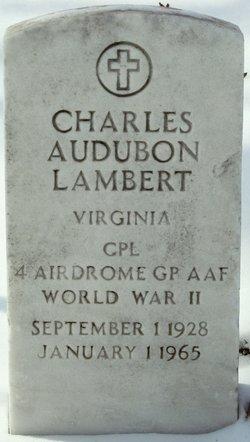 Charles Audubon Lambert, Jr
