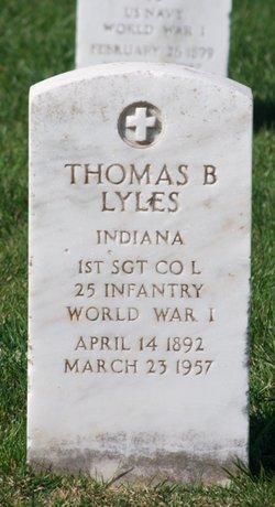 Sgt Thomas B Lyles