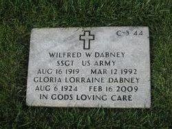 Wilfred W Dabney