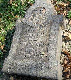 Mary A Bernert
