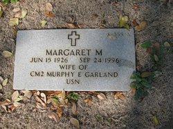 Margaret M Garland