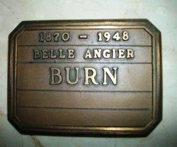 Belle Sumner <I>Angier</I> Burn