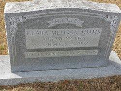 Clara Melissa <I>Wagner</I> Adams