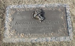 Annabelle Catherine McGinty