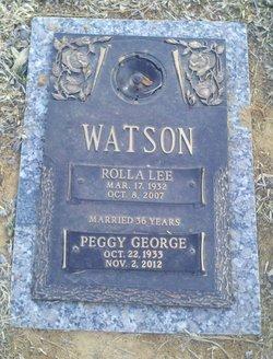 Peggy Joyce <I>George</I> Watson