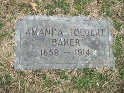 Amanda <I>Tolbert</I> Bales