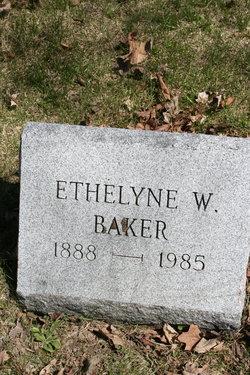 Ethelyne <I>White</I> Baker