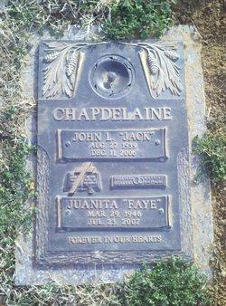 "Juanita Faye ""Faye"" <I>Moore</I> Chapdelaine"