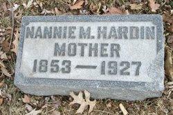Nannie M <I>Doan</I> Hardin