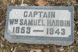 Capt William Samuel Hardin