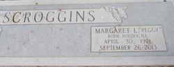 "Margaret L ""Peggy"" Scroggins"