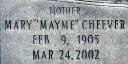 Mary Mayme <I>Cheever</I> McMillan