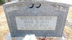 Royce E Blake