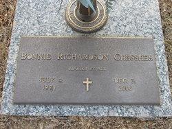 Bonnie <I>Richardson</I> Chessher