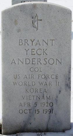 Bryant Yeck Anderson