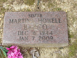 Virginia Martina <I>Howell</I> Bargo