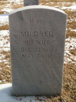 Mildred Marie <I>Barnett</I> Deppe