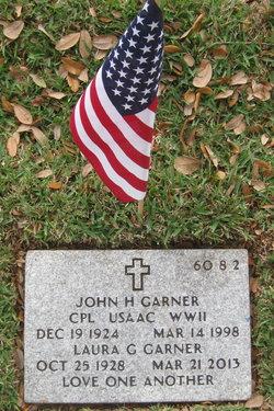 John H Garner