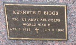 Kenneth D Biggs