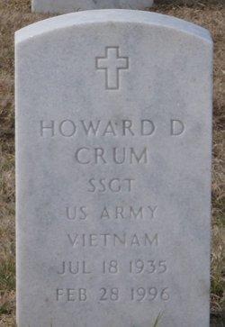 SSGT Howard D Crum