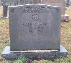 Allen J Brown