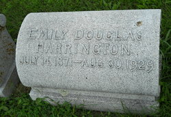 "Emily Douglas ""Dollie"" <I>Wheeler</I> Harrington"