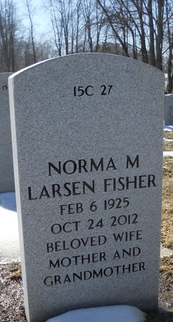 Norma Margaret Larsen Fisher
