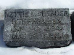 Nettie E. <I>Spencer</I> Stephenson