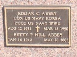 Betty P <I>Hill</I> Abbey
