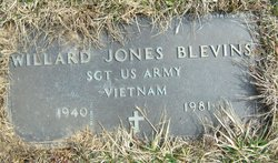 Willard <I>Jones</I> Blevins