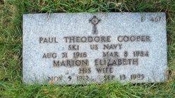 Marion Elizabeth <I>Orr</I> Cooper