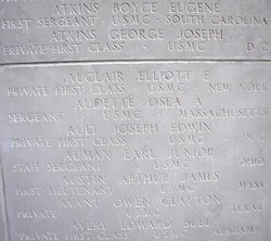PFC Elliott Earl Auclair