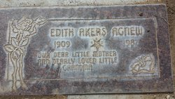 Edith Akers <I>Tankersley</I> Agnew