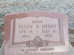 Susan Henrietta <I>High</I> Henry