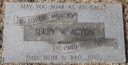 Jerry W Acton