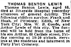 Thomas Hart Benton Lewis