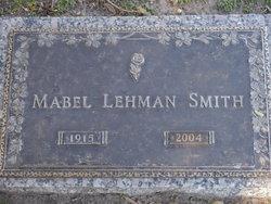 Mabel M. <I>Lehman</I> Smith