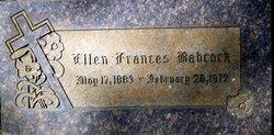 Ellen Frances Babcock