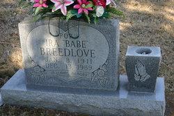 "Ira ""Babe"" Breedlove"